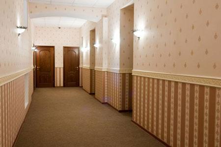 Различных обоев в коридоре источник